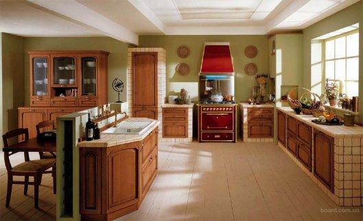 Эта удивительная итальянская кухонная мебель...